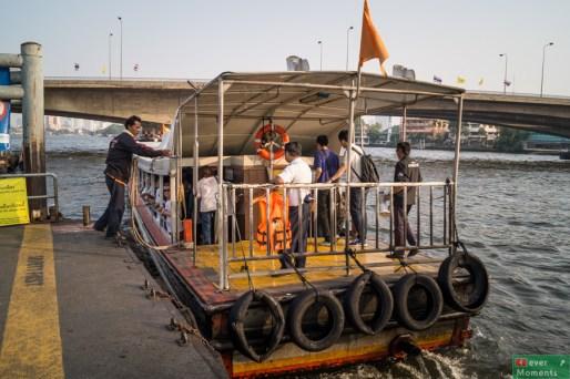 ...bez problemu, na jednej z wielu przystani, można złapać tramwaj wodny