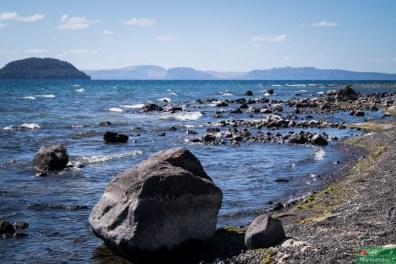 Taupo, największe jezioro NZ