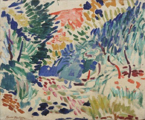 Paisajes de Coillure, Henri Matisse, 1905, óleo sobre lienzo