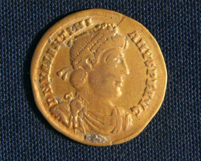 monedas bizancio en egipto