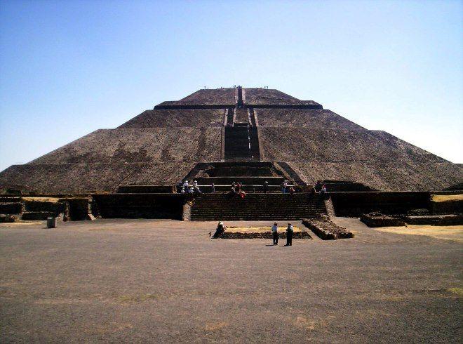 la pir mide del sol en teotihuac n podr a estar en peligro