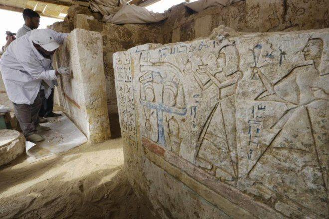 tumba militar egipto