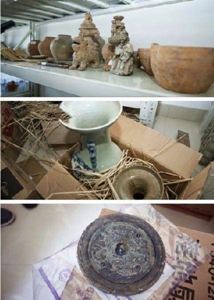 Reliquias incautadas