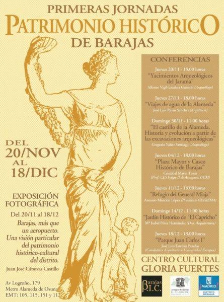 I Jornadas de Patrimonio Histórico de Barajas