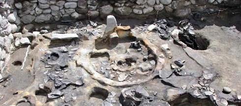Santuario hallado en Armenia.