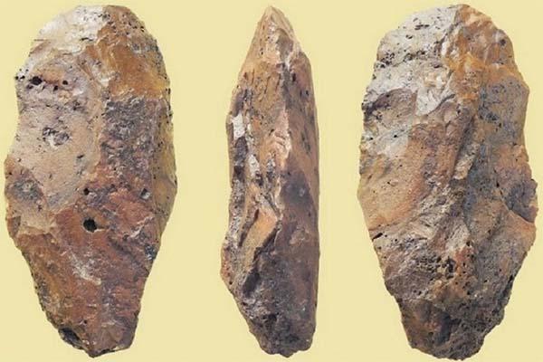 Herramientas de la Edad de Piedra halladas en Emiratos Árabes Unidos.