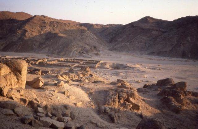 Canteras Claudias, en Egipto. Crédito: Wikimedia.