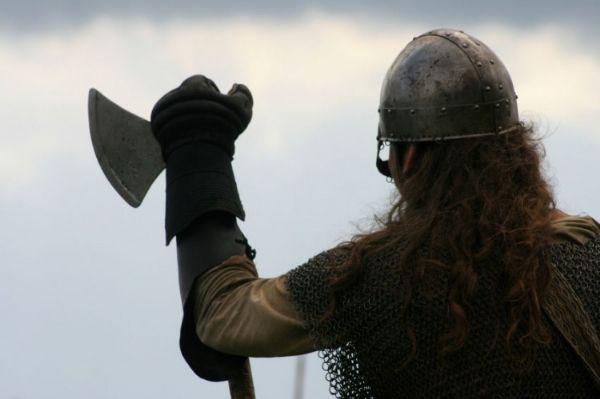 Imagen de un vikingo