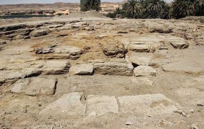 Restos del templo egipcio