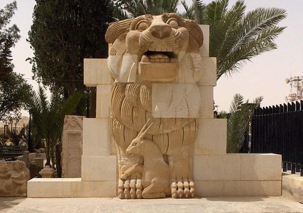 León de al-Lat de Palmira.