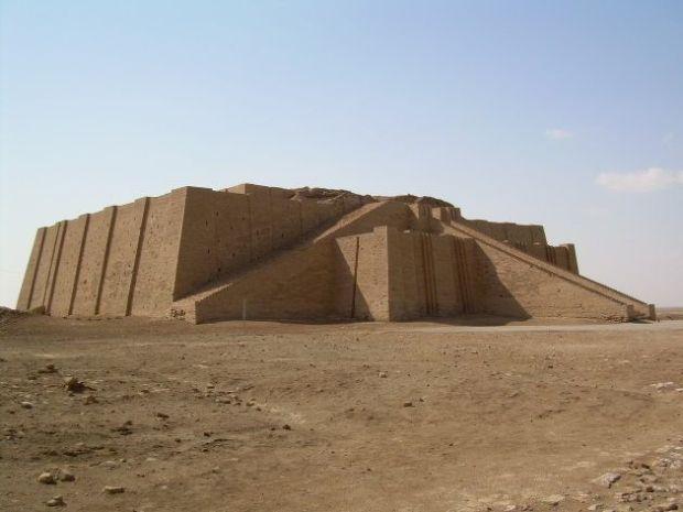 Antigua ciudad de Ur, en Mesopotamia.
