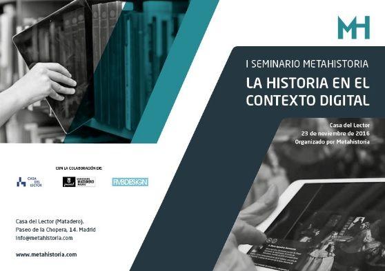 """Jornada """"Historia en el contexto digital""""."""