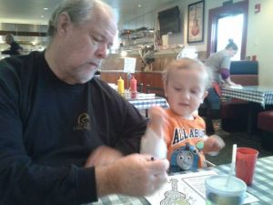 Papa and Ray