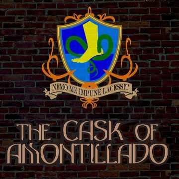 In stores now: THE CASK OF AMONTILLADO
