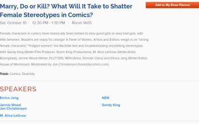 """New players for Red Stylo's """"Marry, Do, or Kill"""" panel at NYCC!"""