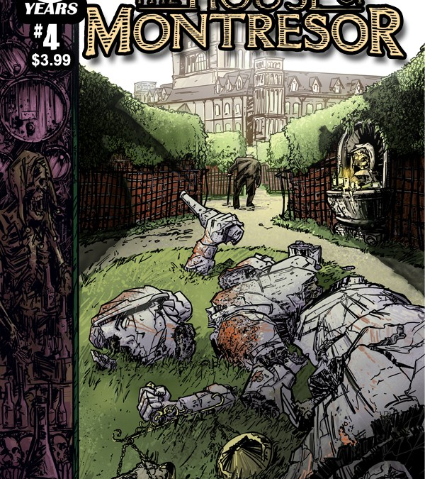Dun dun dun! The thrilling conclusion, HOUSE OF MONTRESOR #4, is in shops today!