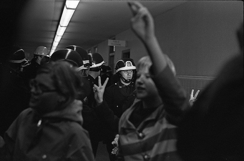 Brooklyn College Sit-in, 1967 (source: http://bit.ly/1dR5IJf)
