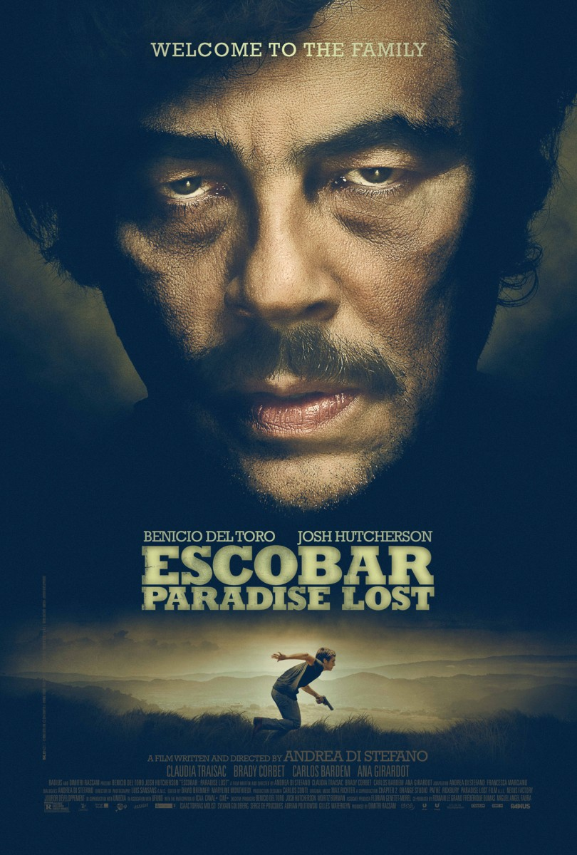 For pablo escobar benicio del toro family is everything when young