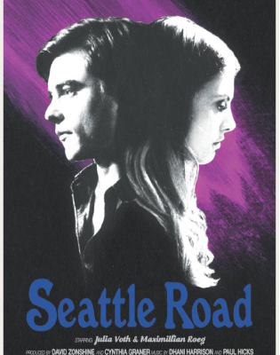 Seattle Road Poster