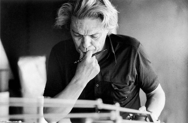 João Vilanova Artigas, arquiteto, autor do projeto do edifício da FAU (1969).