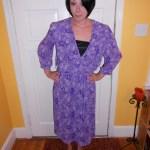 Day 86:  Purple Rainforest Dress…Take 2!