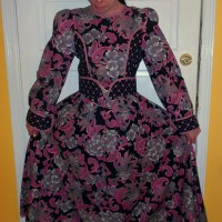 Day 258:  Ashes of Roses Dress