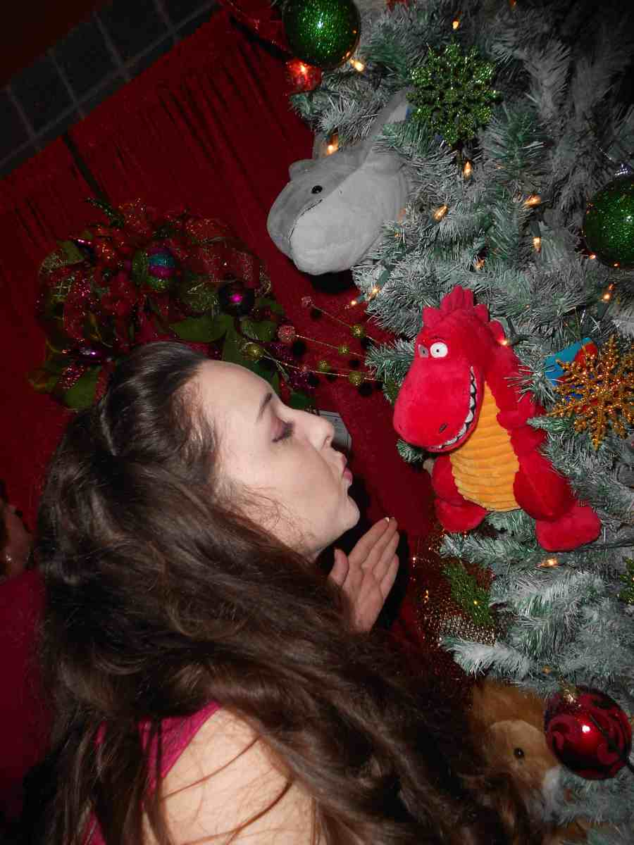 Look...Amy found a new friend!  ;)