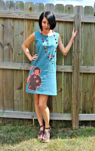 A funky frock for a lousy day!