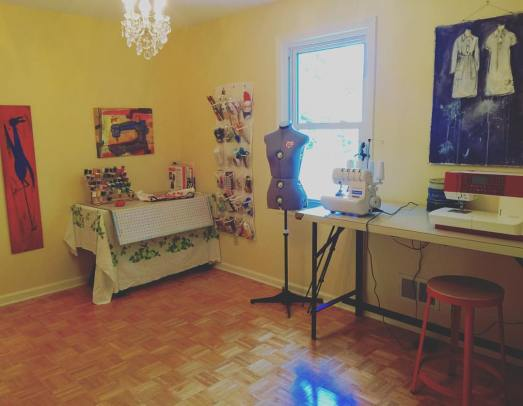 My new sewing room!