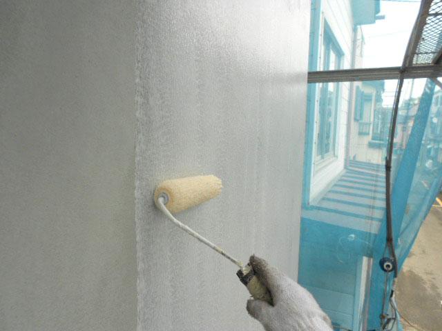 2F増築部塗装工事