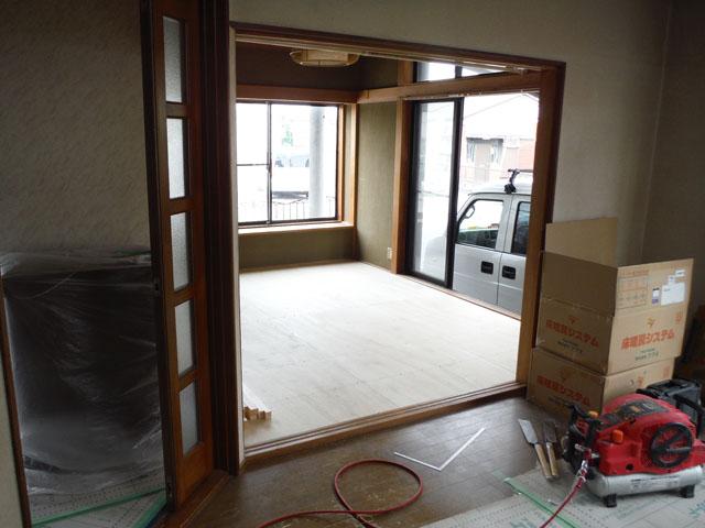 和室床造作 (2)