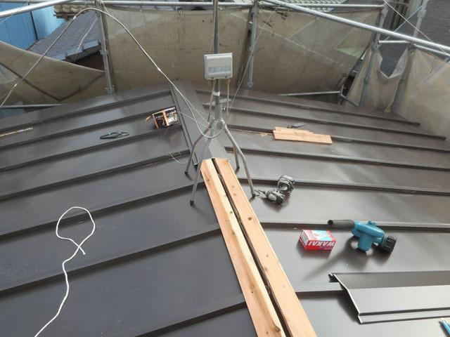 屋根新規葺き (3)