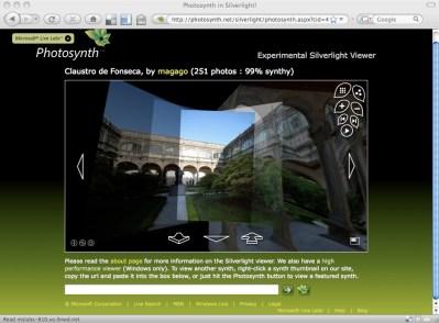 Silverlight Photosynth viewer