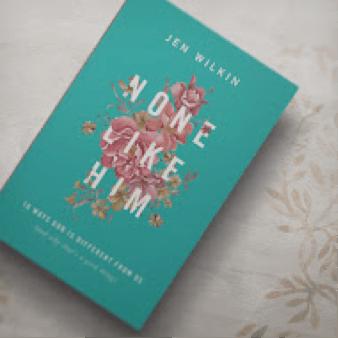 Review & giveaway! None Like Him by Jen Wilken