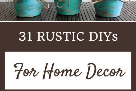 31 rustic diys for home decor pinterest 1