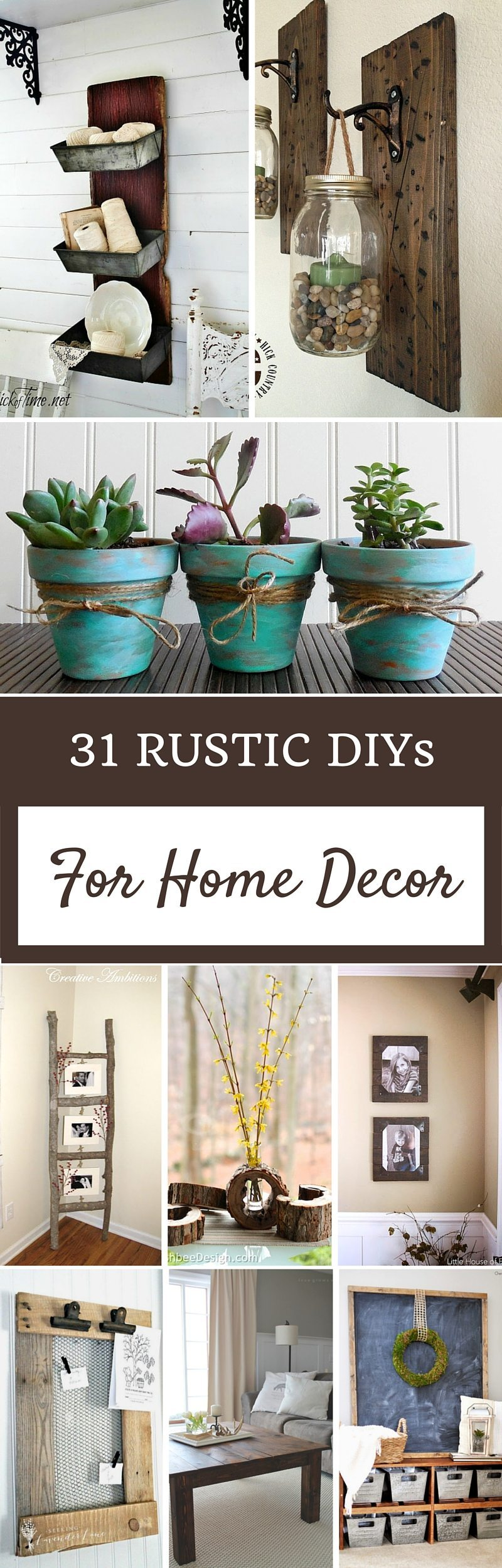 Charming Home Decor Rustic Diy Home Decor Projects Refresh Restyle Diy Home Decor Crafts Diy Home Decor Craft Projects Rustic Diys home decor Diy Home Decor Crafts