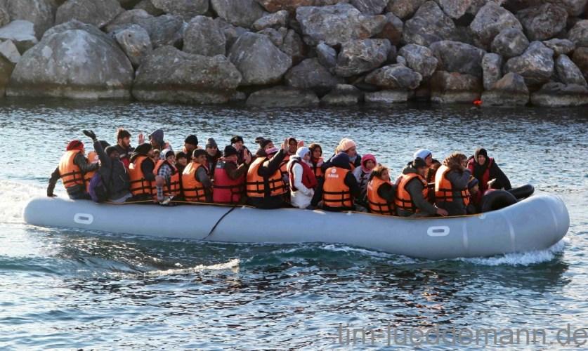 Chios Bericht 2: Nachtschichten an der Küste