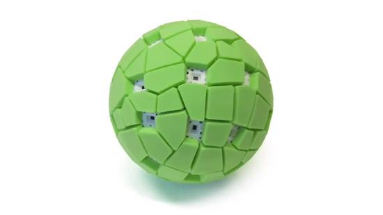 Ingeniosa cámara bola panorámica de 360º que se lanza