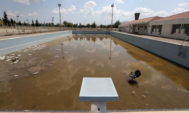 Piscina olímpica, Atenas 2004