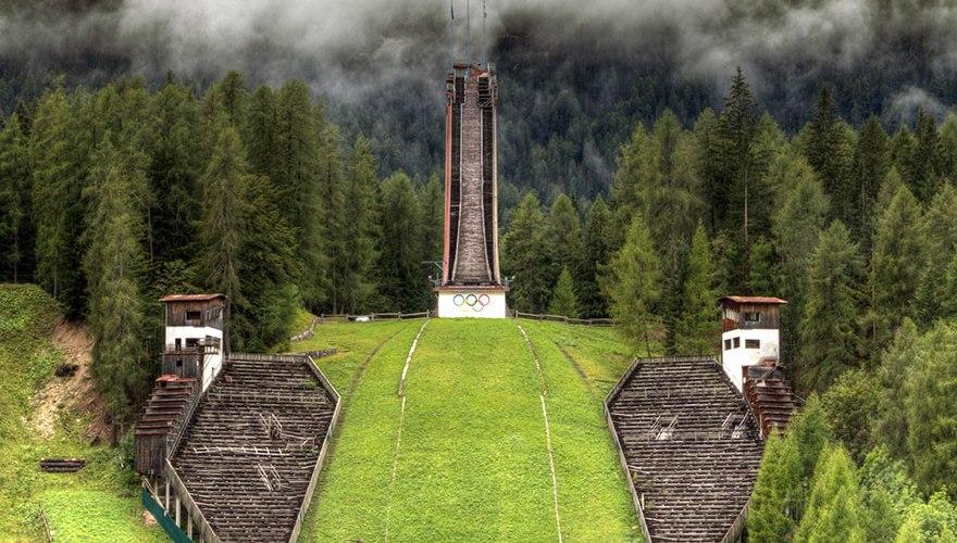 Instalaciones deportivas olímpicas abandonadas tras las olimpiadas