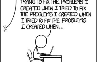 Arreglando problemas