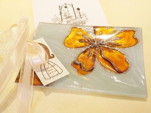 Bandejas de cristal, regalo original para comuniones, bautizos y bodas 2