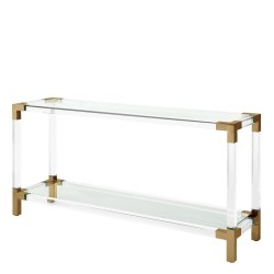 Small Crop Of Acrylic Console Table