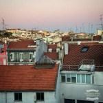 More red rooftops of Lisbon at dusk ©2016 Regina Martins