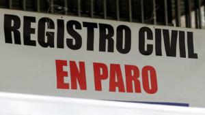 registro civil paro