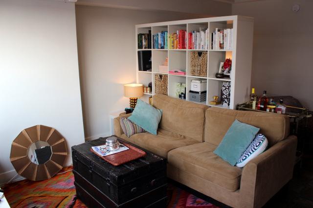 room divider studio apartment