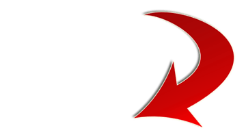 red-arrow-curved-upright