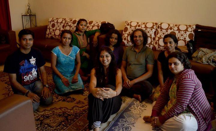 Ilahinoor workshop, happy faces