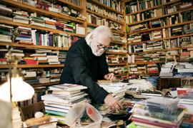 Austria, Vienna; Austrian Author Gerhard Roth