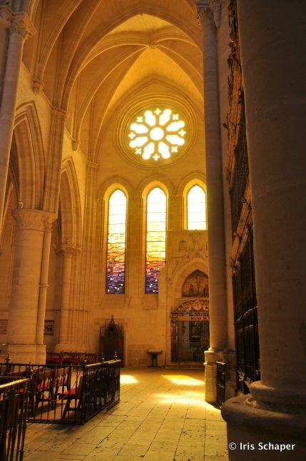 Fenster Kathedrale Cuenca Rosette